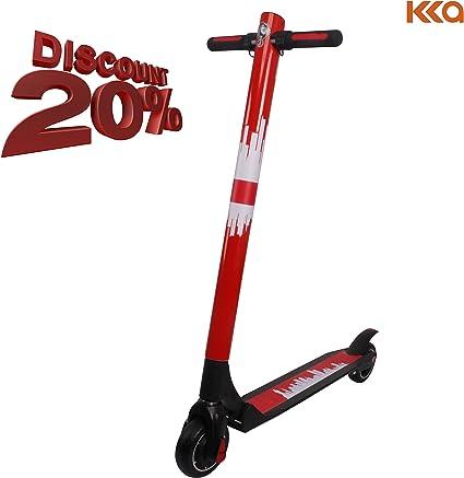 Amazon.com: Adulto Scooter eléctrico e-Scooter KKA Rango ...