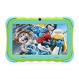 iRULU Tablet de 7 pulgadas con Android para niños 1024 * 600 IPS pantalla táctil de 1GB/16GB Babypad Edition PC con WiFi y cámara y juegos,Google Play Store,compatible con Bluetooth (Verde)