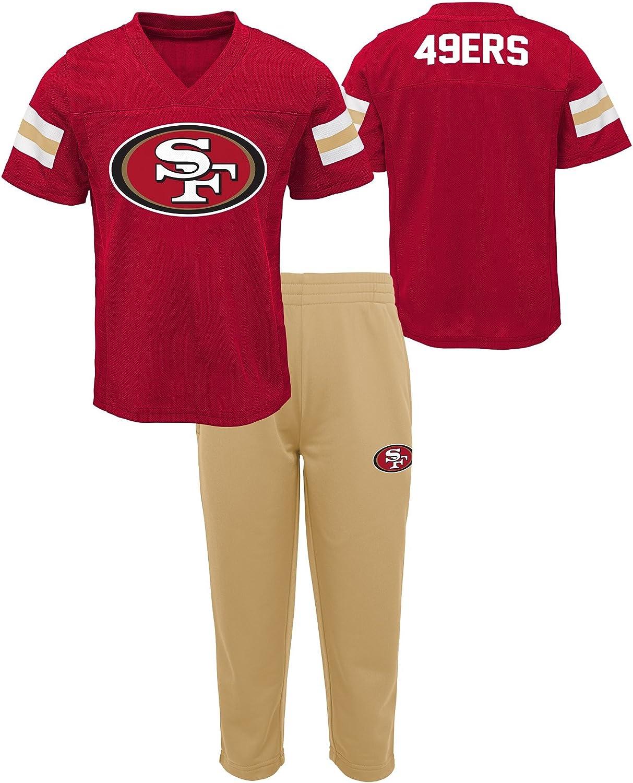 NFL Boys Short Sleeve Tee /& Pant Set
