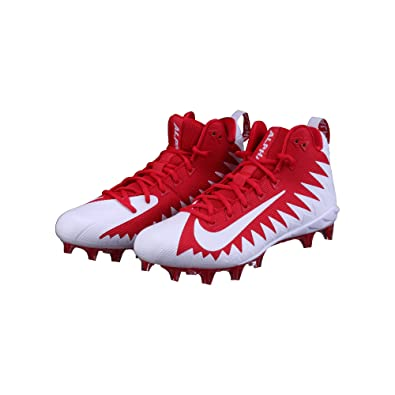 9f2c3662c74 Image Unavailable. Image not available for. Color  NIKE Alpha Menace Pro Mid  Mens Football Cleats ...