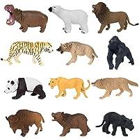 YIJIAOYUN 12 Piezas de plástico Educativo Animales del