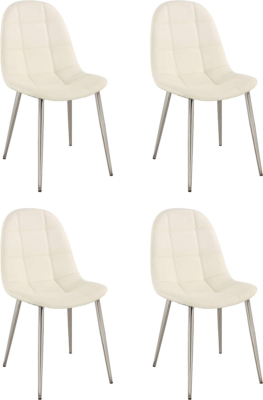 MILAN Dining Chair, White