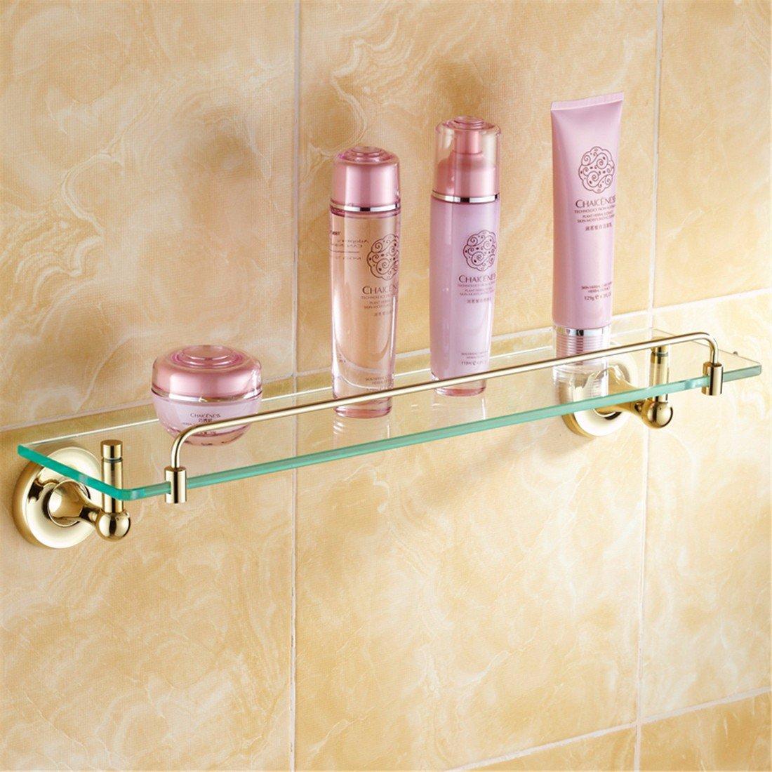 LAONA All copper antique European style gold bathroom fittings, toilet paper rack, towel rack,Rack 1