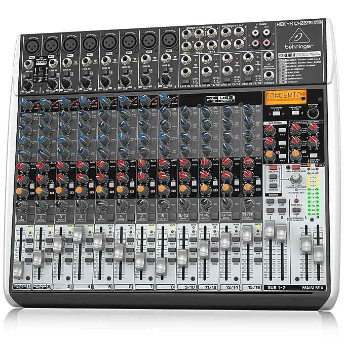Amazon.com: Behringer Xenyx QX2222USB: Musical Instruments