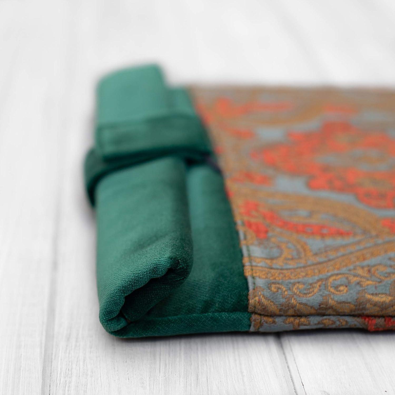 étui/housse/sleeve/pochette pour tablette iPad Pro Air 9.7 10,5 11 12.9 tissu velours Turquoise