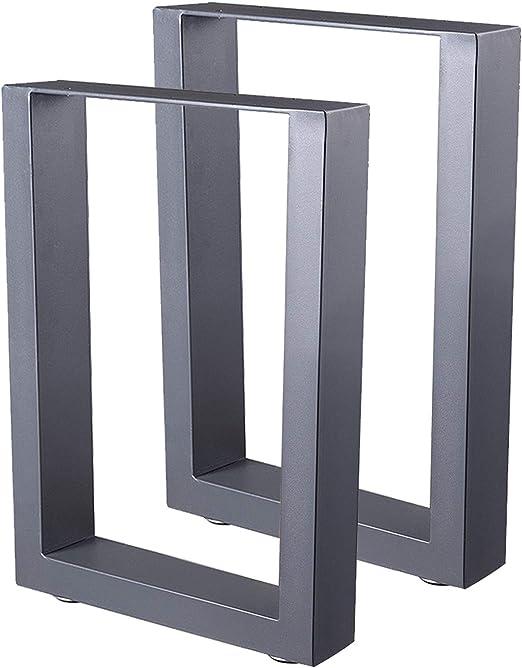 Zelsius - Patas de mesa de acero, 2 unidades, diferentes tamaños ...