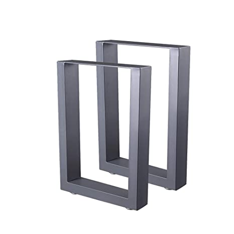 Zelsius - Patas de mesa de acero, 2 unidades, diferentes ...