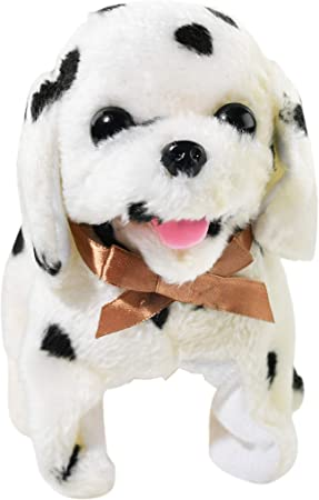 Vintage Smokey The Bear Teddy Bear, Amazon Com Home X Magic Dalmatian Electric Dog Toys Interactive Pets Stuffed Animals Office Products