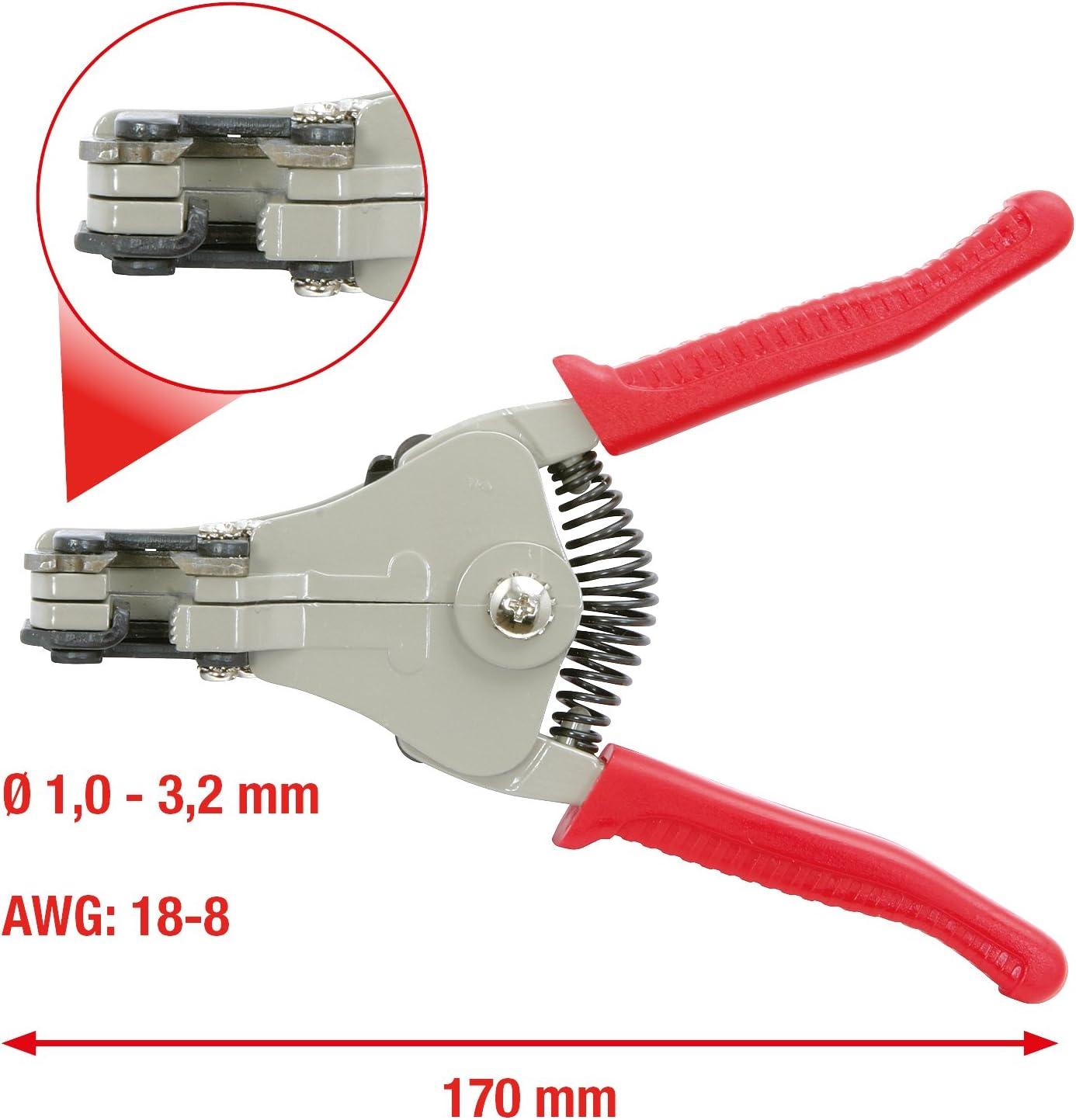 OriGlam Pince /à d/énuder automatique de pr/écision 17,8 cm