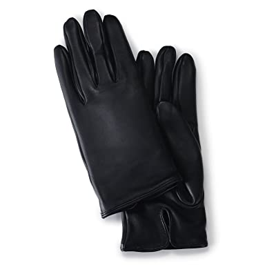 James Bond - Skyfall Leather Gloves 5-0007: Black