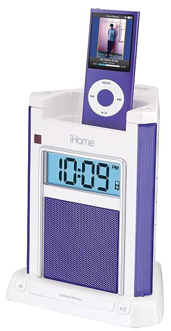iHome iH4B Alarm Clock For iPod