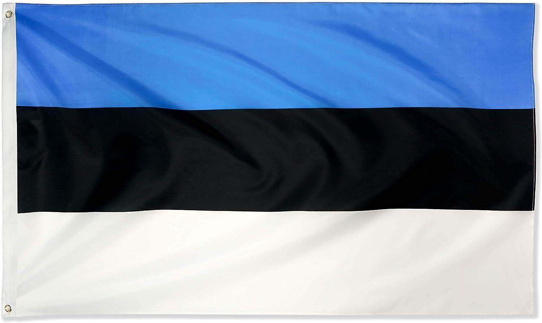 ESTONIA Flag  5ft x 3ft
