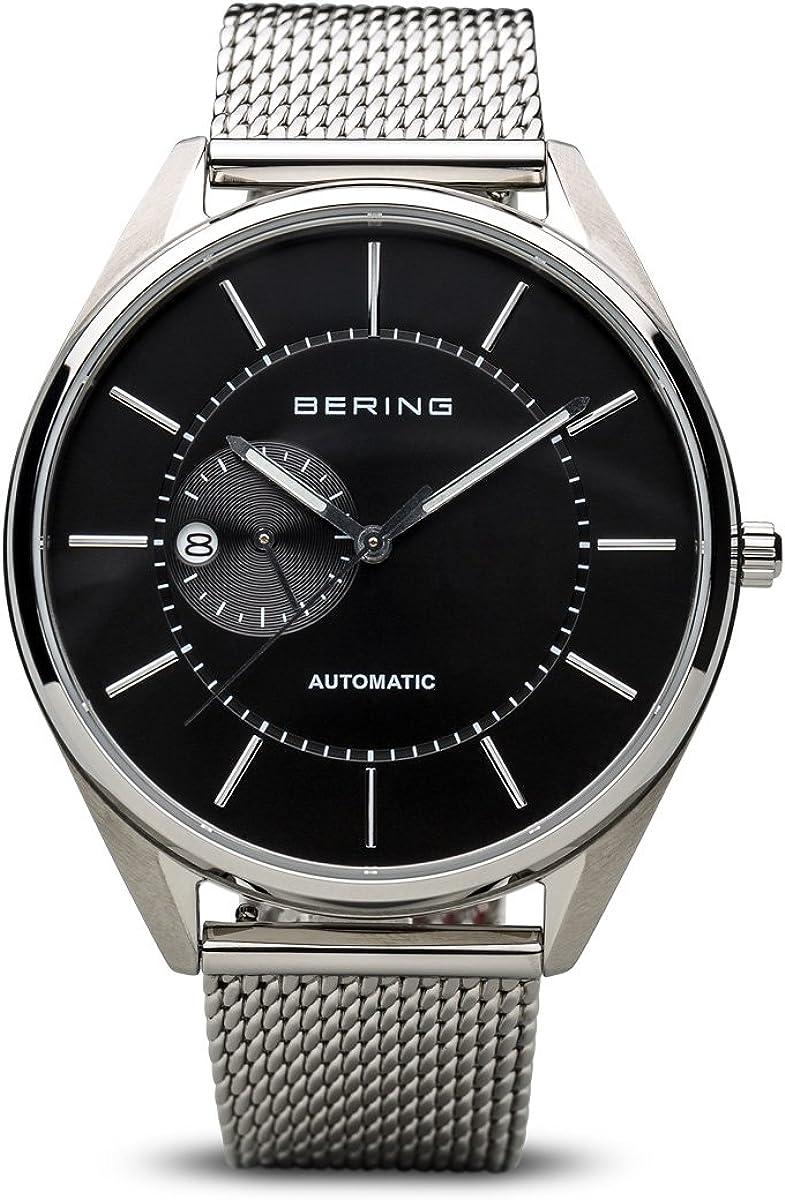 BERING Reloj Analogico para Hombre de Automático con Correa en Acero Inoxidable 16243-077