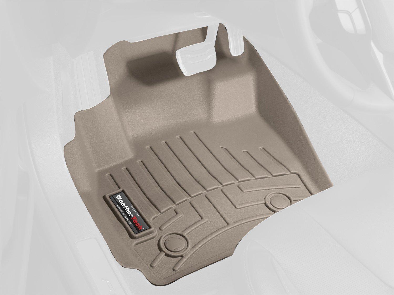 WeatherTech Custom Fit Front FloorLiner for Toyota 4Runner, Tan 451231