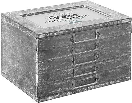 Atmosphera – Álbum de fotos con caja de almacenaje, colección Moments: Amazon.es: Oficina y papelería
