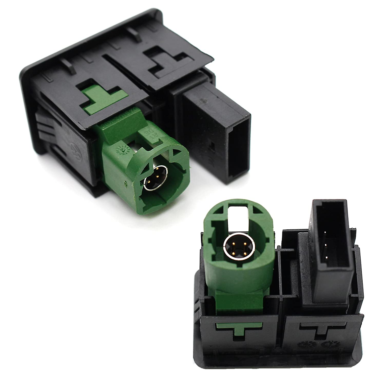filo per BMW X5/X6/E87/E90/E91/E92/3/5/Series Auto USB interfaccia adattatore AUX IN input switch