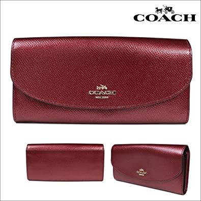 timeless design fa2c7 4e4fd Amazon | (コーチ)COACH 財布 長財布 F54009 (並行輸入品 ...