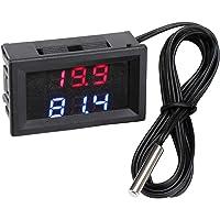 Medidor de temperatura del voltaje del automóvil, Droking