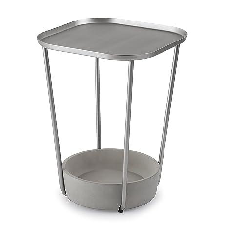 Umbra Tavalo Side Table, Nickel