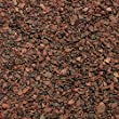Safe & Non-Toxic 7.7 Pound Bag of Gravel, Rocks & Pebbles Decor Made From Fluorite Clay for Freshwater & Saltwater Aquarium w/ Modern Shiny Earth Tone Pond Water Style [Dark Brown]