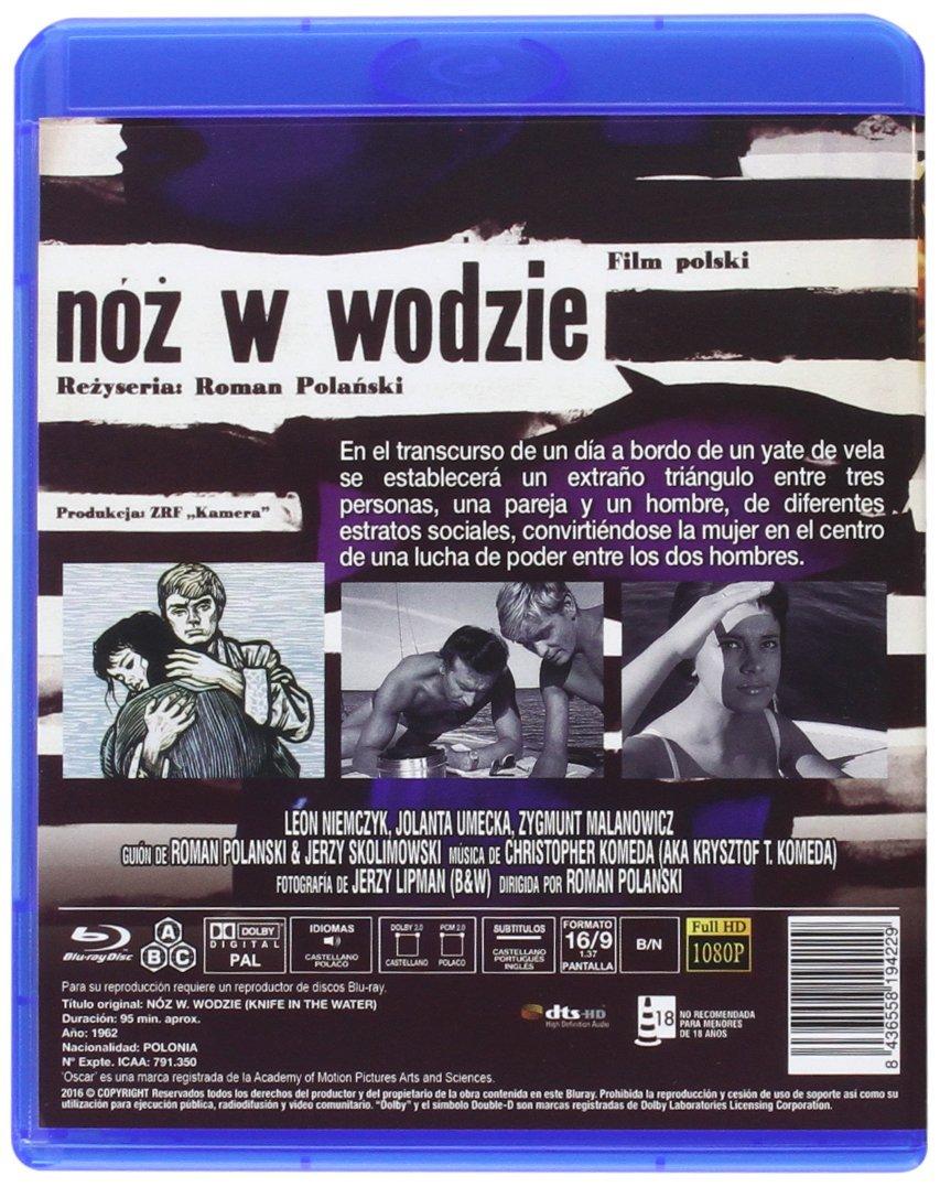 Amazon.com: El Cuchillo En El Agua BD 1962 Nóz W. Wodzie ...
