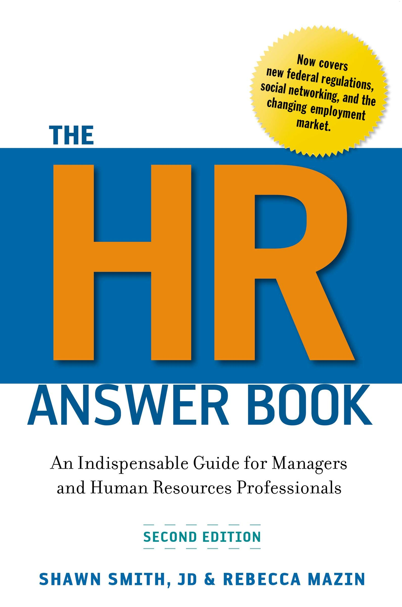 The Hr Answer Book: An Indispensable Guide for Managers and Human