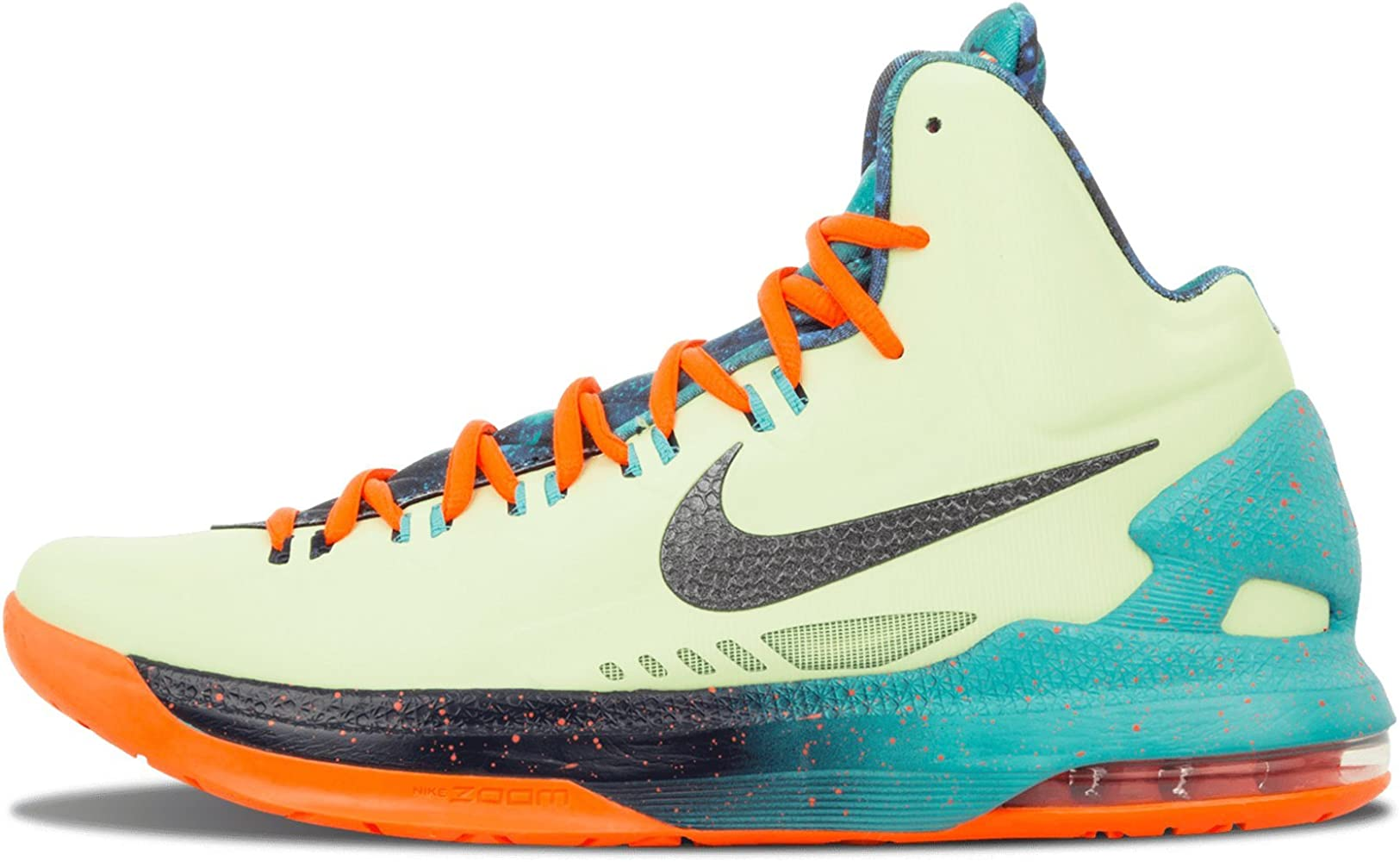detalles Ciencias Sociales Scully  Amazon.com | Nike Mens KD V - AS Liquid Lime/Sport Turquoise-Total Crimson  Synthetic Basketball Shoes | Shoes