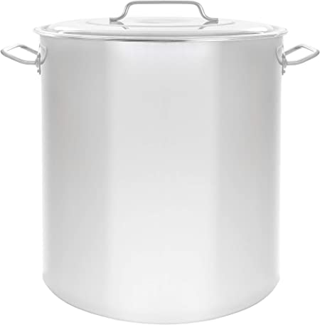 Concord Cookware S5050S Stainless Steel Stock Pot Kettle, 100-Quart