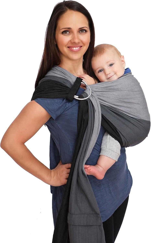 Maya Wrap ComfortFit Ring Sling Baby Carrier – Asher – Medium