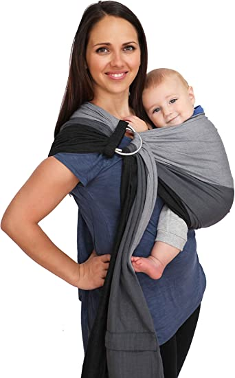 Amazon.com: Maya Wrap ComfortFit Ring Sling & Baby Carrier ...