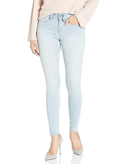 Yummie Womens Modern Mid Rise Slimming Ankle Denim Jeans