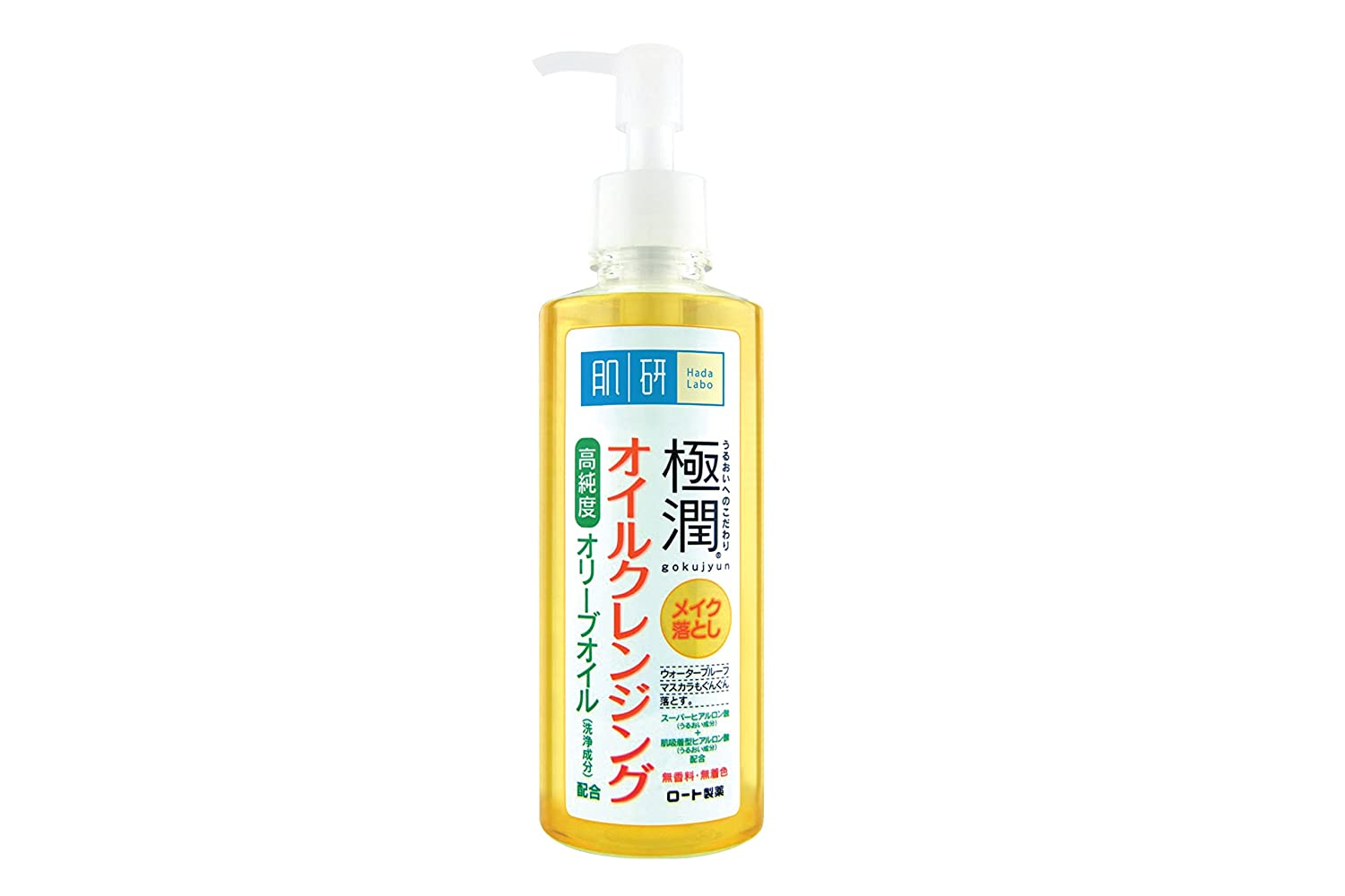 Rohto HADALABO Gokujun Cleansing Oil - 200ml (japan import) BU11J02260