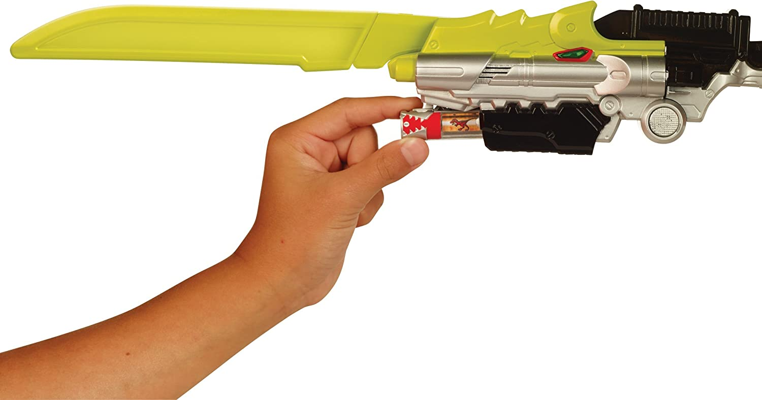 Power Rangers Dino Charge Deluxe Dino Saber Bandai America Incorporated 42046