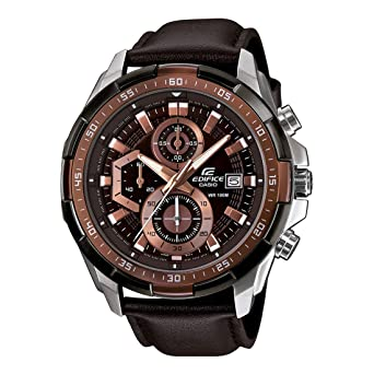 86191dc36db5 Casio Edifice Chronograph Brown Dial Men s Watch - EFR-539L-5AVUDF (EX194)