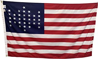 product image for 3x5' Union Civil War Fort Sumter Flag - Durable All-Weather Nylon, Reinforced Fly End Stitching, Proudly Made in The USA