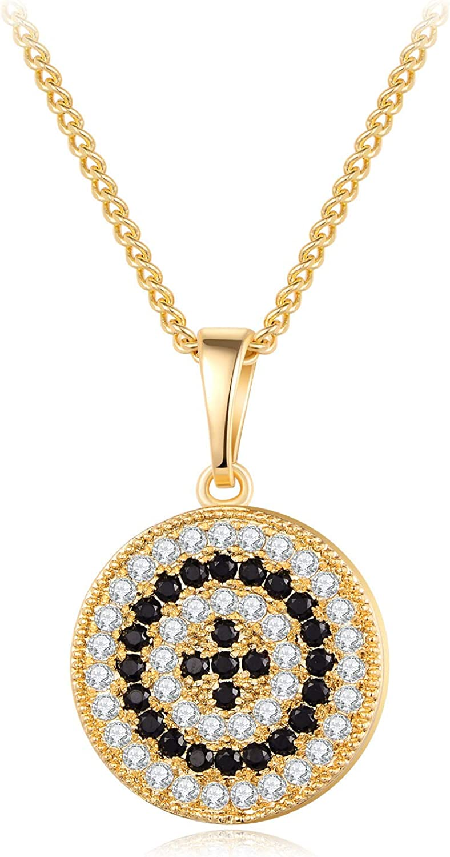evil eye pendant Diamond  2 tone evil  eye pendant silver evil  eye pendant,pave Diamond  jewelry
