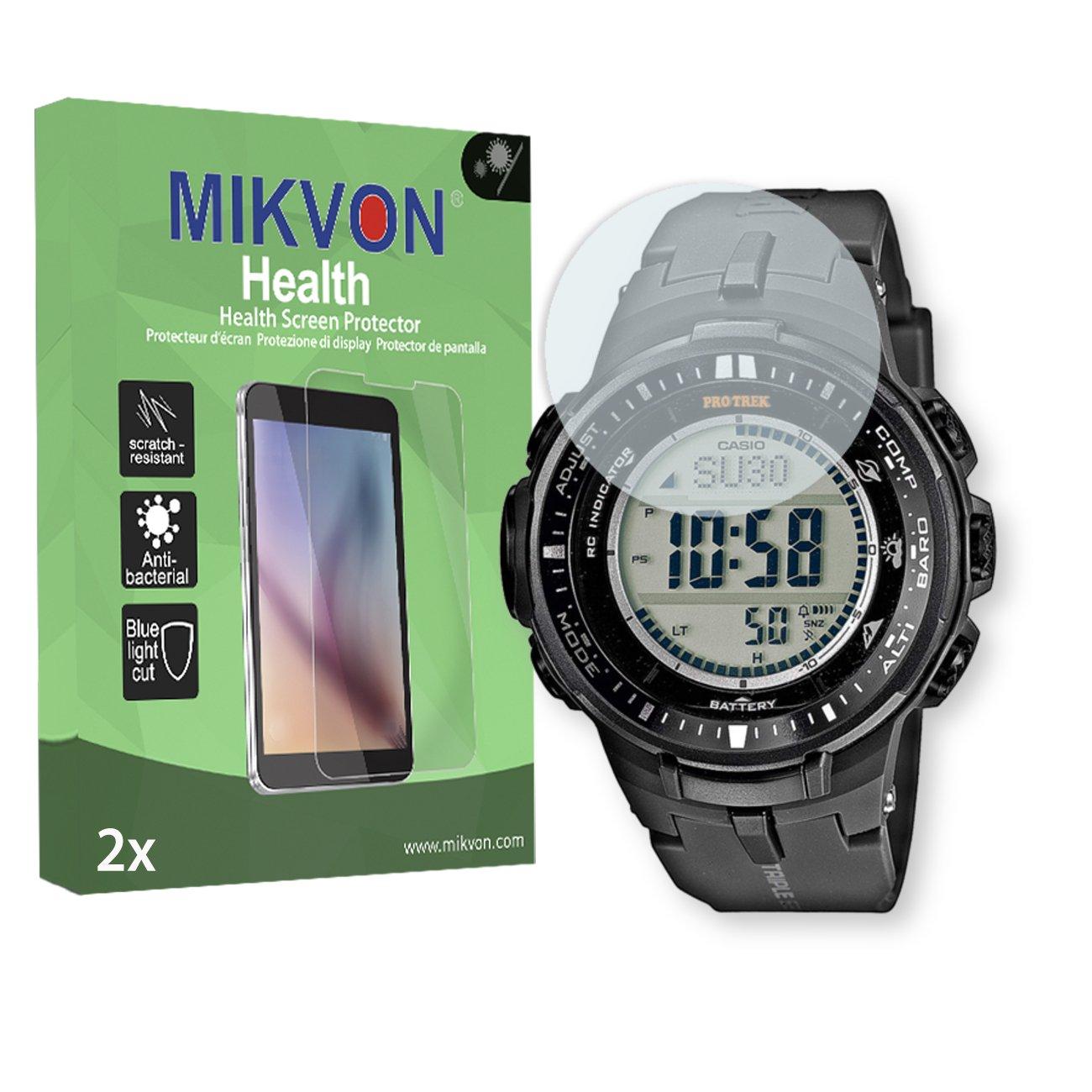 MIKVON 2 x Salud Protector de Pantalla para Garmin Casio ...