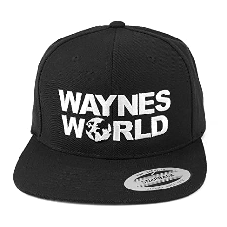 b846e26a7da Amazon.com  Wayne s World Snapback Hat  Sports   Outdoors