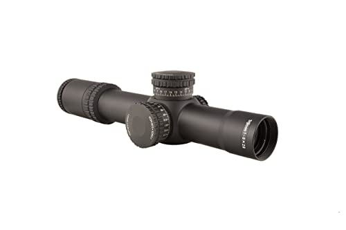 Trijicon AccuPower 1-8x28 Riflescope Red LED MOA Segmented