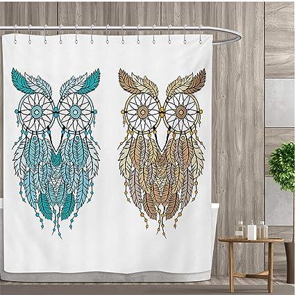 Amazon Com Smallfly Owl Bathroom Decor Sets With Hooks