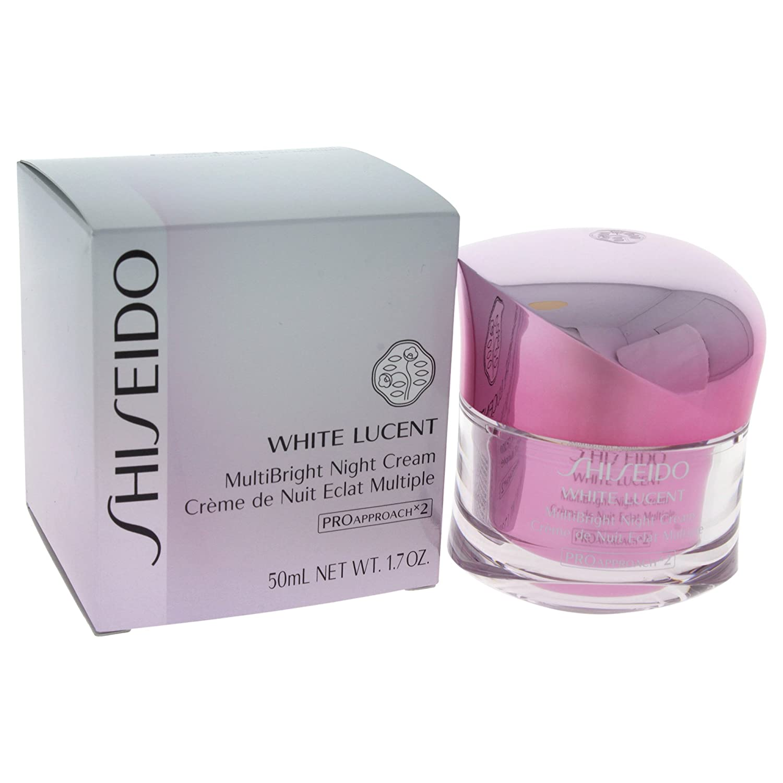 Shiseido White Lucent Multibright Night Cream, 1.7 Ounce