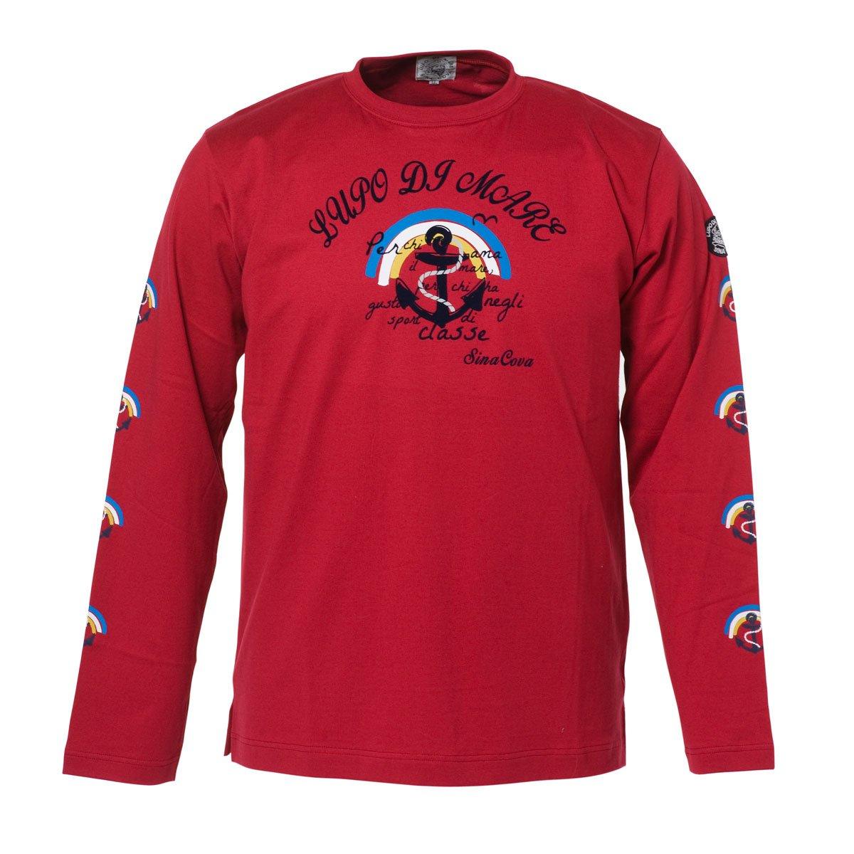 (シナコバ) SINA COVA 長袖Tシャツ B079ZTKVYB M|レッド レッド M