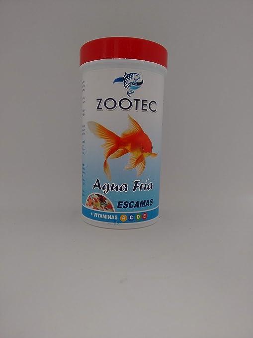 Zootec alimento en Escamas Agua fría 250 ML / 50 g