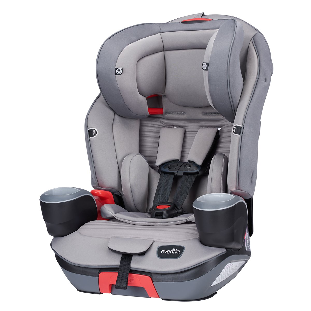 Evenflo Evolve Platinum 3 In 1 Combination Booster Seat Charcoal Stripe