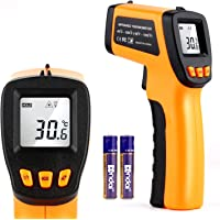Digital Infrared Thermometer Laser Temperature Measurement Gun Non-Contact Infrared Thermometers Temperature Reader…