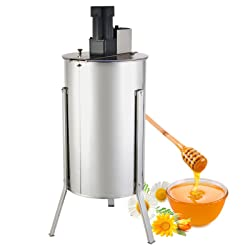 2 Frame Electric Honeycomb Spinner Stainless Steel Honey Extractor by Orange A