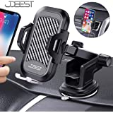 Xdtlty Car Phone Mount, 3-in-1 Universal Car Phone Holder Car Air Vent Holder Dashboard Mount Windshield Mount Compatible with iPhone, Samsung, Android Smartphones