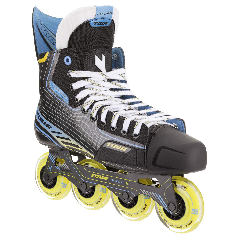 Tour Code 3.One Inline Roller Hockey Skates Black Senior Size 8
