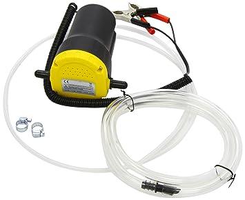 Extractor eléctrico de aceite del coche para sacar el aceite por arriba. Oil