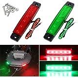 Shangyuan Boat Navigation Lights, Stern Lights for Boats, Marine Led Strip Lights for Boat Lights Bow and Stern…